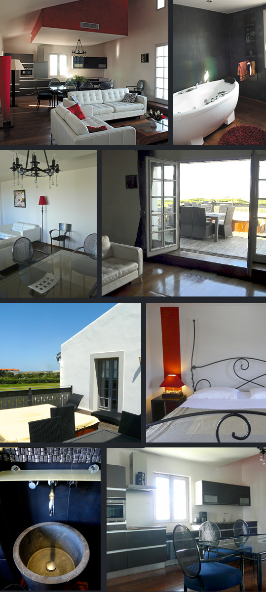 Villa Clara - 4-star Tourist residence - Anglet - France | Accommodation - 4 bedroom apartment for 7/9 people